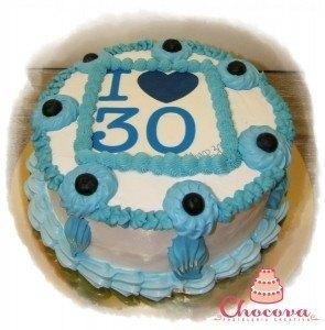 Tarta Love 30